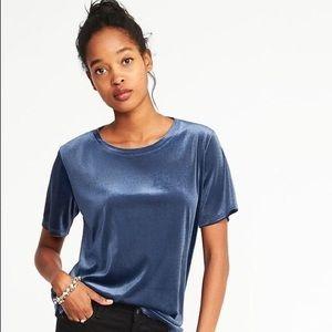 OLD NAVY | Velvet T-shirt!